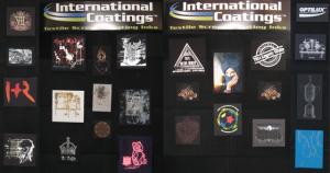 Diplay Wall at ISS Long Beach 2013