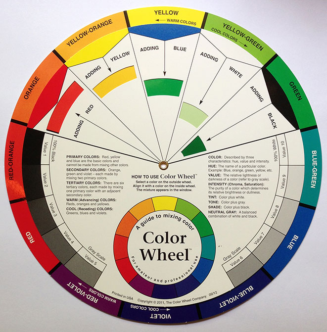 Match colors using a color wheel international coatings blog - How to know what colors match ...