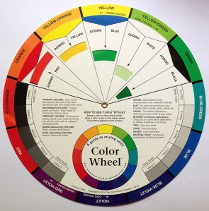 Color Wheel courtesy of The Color Wheel Company